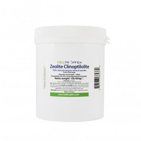 Zeolit klinoptilolit 454g, ultrafini, 100% prirodni