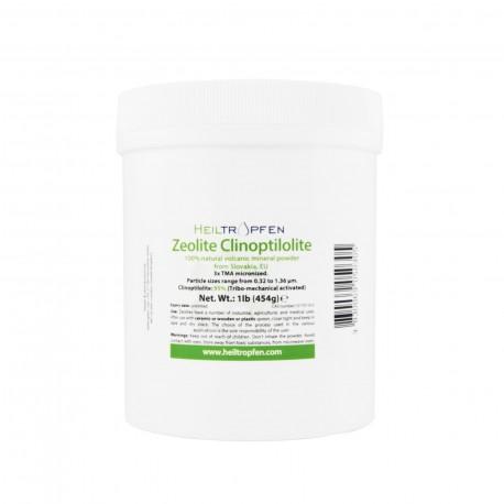 Zeolit klinoptilolit 454g, 3xTBA