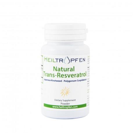 Natural Trans-Resveratrol u prahu, 50g
