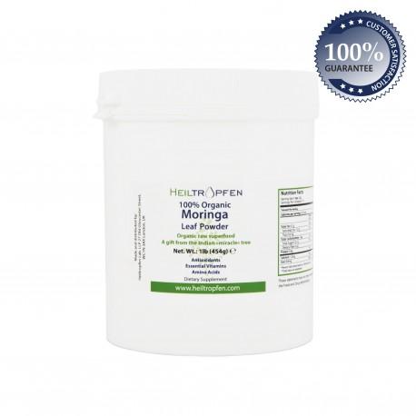 Moringa prah, 100% organski, 454g