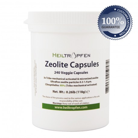 Zeolite kapsule 3xTMA, 240 kapsula, 116g
